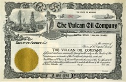 Vulcan Oil Company (Great gift for a Star Trek Trekkie)- Wyoming 190_