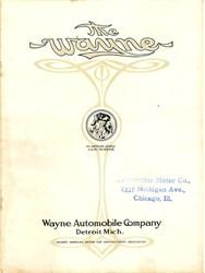 Wayne Automobile Company - Detroit, Michigan 1907