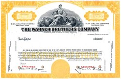 Warner Brothers Company (Warnaco Group)  Convertible Preferred - Connecticut