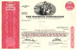 Wachovia Bank Corporation - 1971