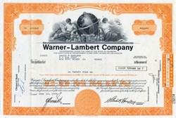 Warner-Lambert Company - Delaware