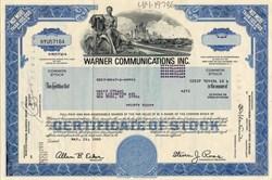 Warner Communications Inc.  ( Steven J. Ross as Chairman of the Board ) - 1979