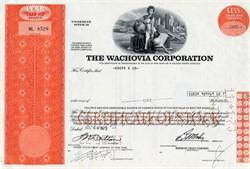 Wachovia Bank Corporation - 1972