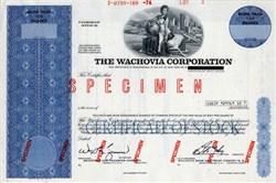 Wachovia Corporation (Wells Fargo) - Rare Specimen - North Carolina