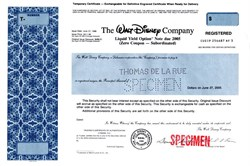 Walt Disney Company (Rare Liquid Yield Option Note - Zero Coupon ) - Delaware 1990
