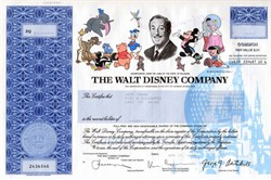 Walt Disney Company (Issued Certificate) - Burbank, California 2006