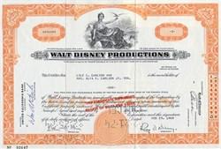 Walt Disney Productions - California 1968