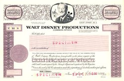 Walt Disney Productions - California