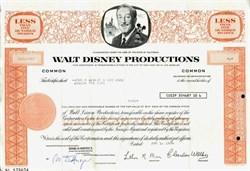 Walt Disney Productions - California 1974