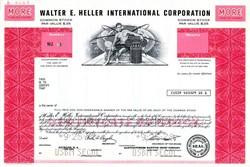 Walter E. Heller International Corporation - Delaware Specimen  - 1978