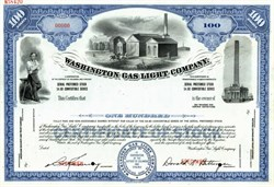 Washington Gas Light Company Specimen - Washnington DC - Virginia