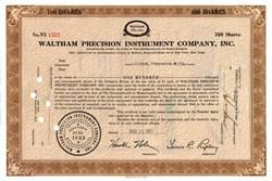 Waltham Precision Instrument Company, Inc.