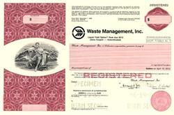 Waste Management, Inc. - Delaware