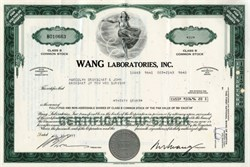 Wang Laboratories, Inc,