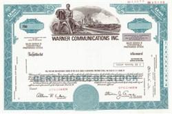 Warner Communications Inc. Specimen ( Steven J. Ross as Chairman of the Board )