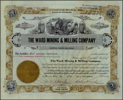 Ward Mining & Milling Company 1917 - Colorado