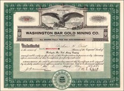 Washington Bar Gold Mining Co.