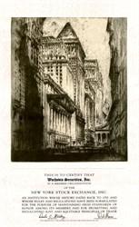 Wachovia Securities, Inc. - New York Stock Exchange Membership Certificate