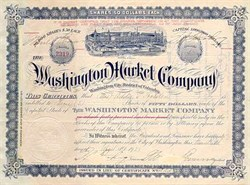 Washington Market Company 1920's - DC