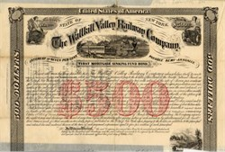Wallkill Valley Railway Company - New York 1868