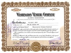 Washington Veneer Company - Olympia, Washington