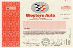 Western Auto Supply Company - Delaware