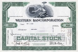 Western Bancorporation (Became First Interstate Bank )  - Delaware