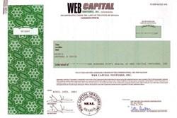Web Capital Ventures, Inc.