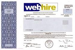 Webhire, Inc.