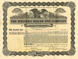 Western Boiler Pipe Company - Illinois 1919