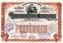 Westinghouse Electric and Manufacturing Company - Pennsylvania, 1905