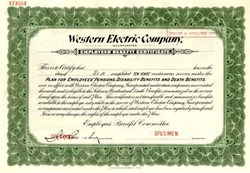 Western Electric Company, Inc.