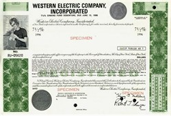 Western Electric Company, Incorporated - New York 1970