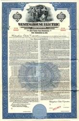 Westinghouse Electric $1000 Bond - New York 1951