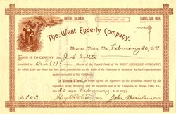 West Enderly Company - Buena Vista, Virginia 1891