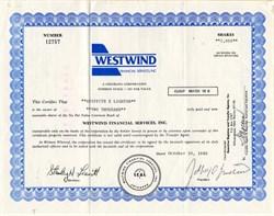 Westwind Financial Services, Inc. - Colorado 1981