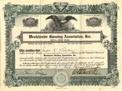 Westchester Gunning Association, Inc. - New York 1923