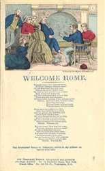 Welcome Home Broadside from Civil War Era - New York