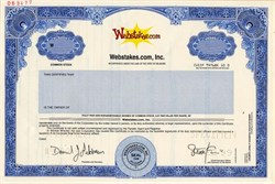 Webstakes.Com, Inc. - Delaware 1999