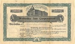 Wellesley Inn Corporation - Massachusetts 1909