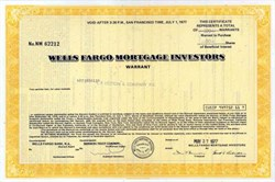 Wells Fargo Mortgage Investors