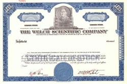 Welch Scientific Company - Early Scientific Equipment Maker