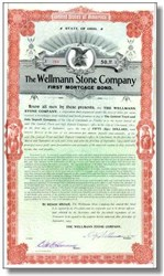 Wellmann Stone Company 1903 - Cincinniti, Ohio