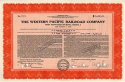 Western Pacific Railroad Company - 1939