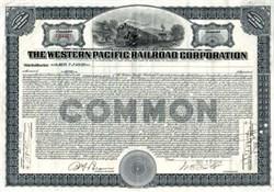 Western Pacific Railroad Corporation - Delaware 1925