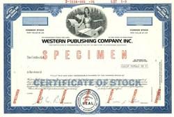 Western Publishing Company, Inc. - Racine, Wisconsin