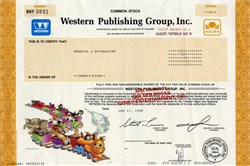 Western Publishing Group, Inc. (became Golden Books Family Entertainment)  - Delaware 1998