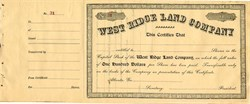 West Ridge Land Company - Atlanta, Georgia
