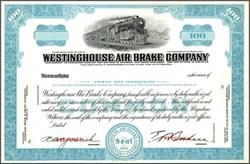 Westinghouse Air Brake Company - Specimen