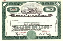 Western Condensing Company - Golden Gate Bridge Vignette